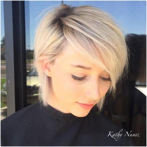 trendiest short blonde hairstyles  haircuts