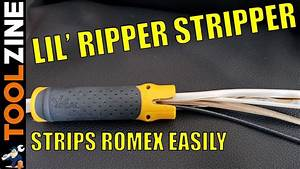 Ideal Lil U0026 39  Ripper Stripper Review - How To Strip Romex Easily