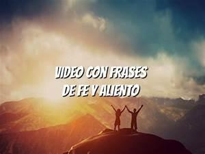 Frases Cristianas De Fe  Aliento Y  U00c1nimo