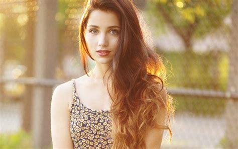 Women Long Hair Blue Eyes Emily Rudd Wallpapers Hd Desktop And Mobile Backgrounds