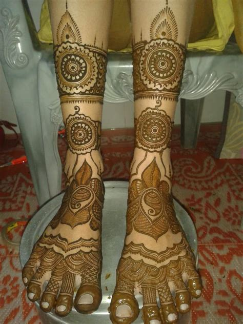 bridal mehndi design  legs smart easy ideas