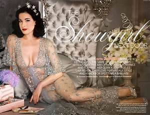 Glamour Friday: Dita Von Teese at Home - Decor by Christine