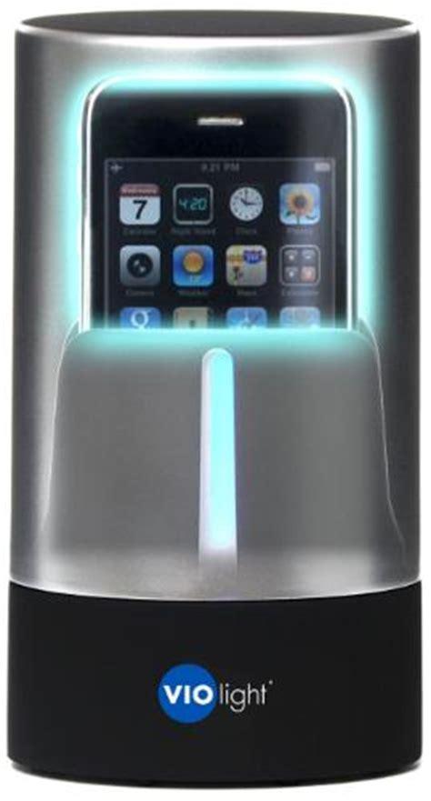 VIOLight Cell Phone Sanitizer uses UltraViolet light to