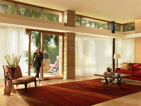Beautiful Sliding Glass Door Curtain Patio Window