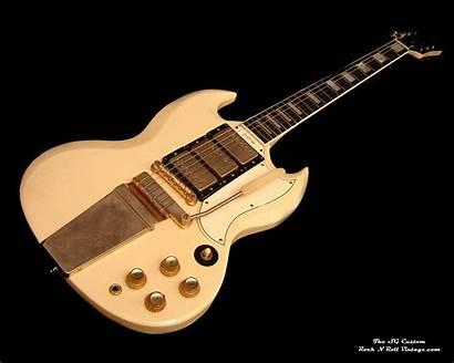 Gibson Guitar Sg Les Paul Custom Wallpapers