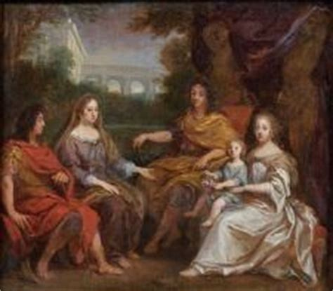 jean nocret louis xiv and the royal family 17 best images about versailles marie therese queen of