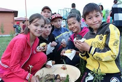 Kazakhstan Sos Villages Children Anniversary Celebrates 20th