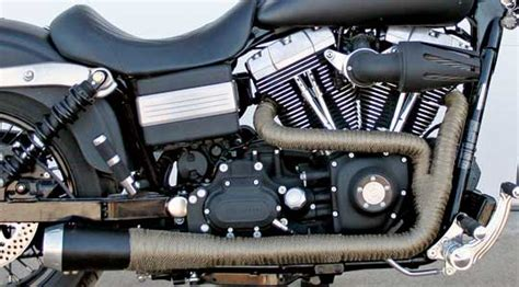 Motorcycle Exhaust Wrap Kits At Cyril Huze Post