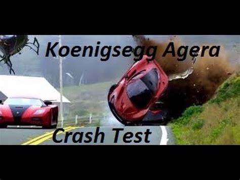 koenigsegg crash test gta v koenigsegg agera crash test youtube