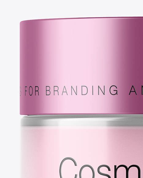 Download cream packaging mockups, water bottle mockups, food supplement packaging bottle mockups, dispensers mockups get exclusive access to our new mockup set, free cosmetic mockup set + premium version, that consists of 10 photorealistic cosmetic bottle mockups which. 50ml Transparent Cosmetic Jar With Metallic Cap Mockup in ...