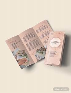 Google Docs Tri Fold Brochure 13 Wedding Event Brochures Templates Psd Docs Pages