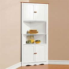 Corner Cabinet Pantry Cupboard Home Kitchen Dining Wine