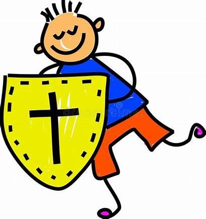 Faith Shield Clip Clipart Christian Happy Cliparts