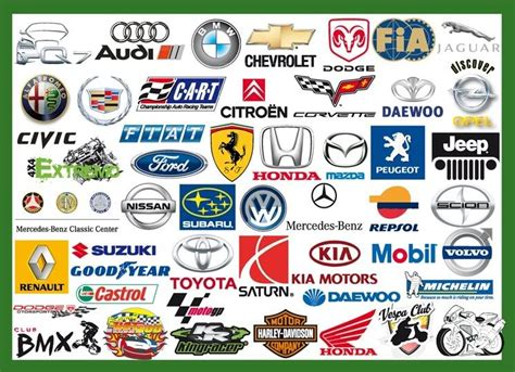14 Car Brand Symbols Icon Images