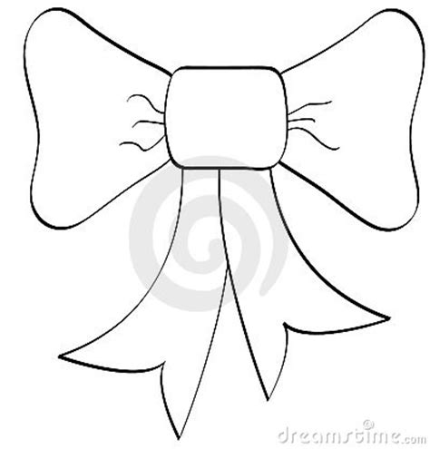bow outline royalty  stock images image