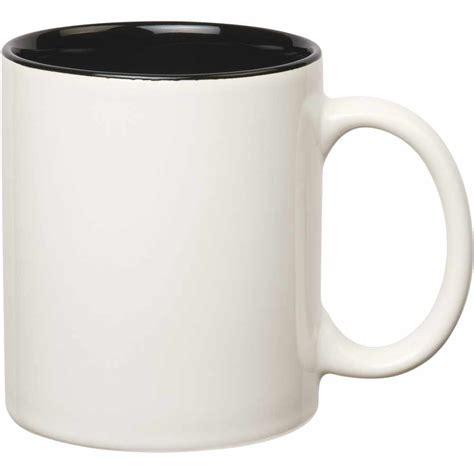 Colored Stoneware Mug (11 Oz, Twotone)  Custom Ceramic Mugs