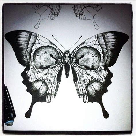 Drawn Moth Occult Pencil Color