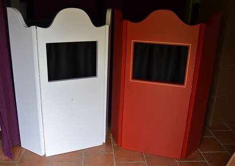 Castelets Pliables En Carton, Accessoirisés, Prêts à