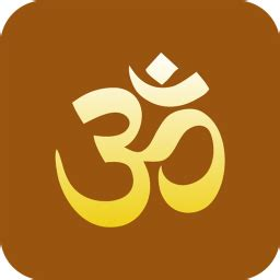 hinduism om icon religious symbol iconset designbolts