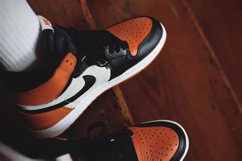 See How The Shattered Backboard Air Jordan 1s Look On