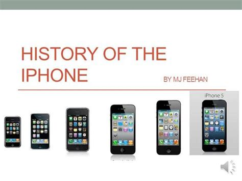 history of the iphone authorstream