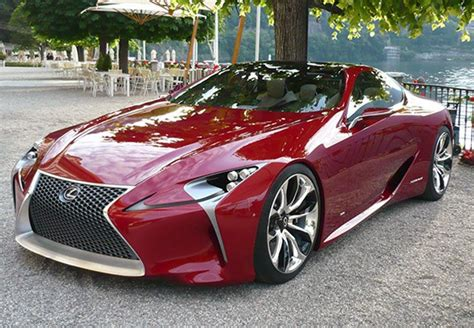 the lexus lf lc has hit the road see it in action here
