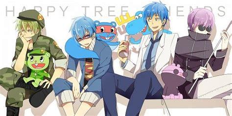 Happy Tree Friends (htf)- Flippy, Splendid, Lumpy, And The