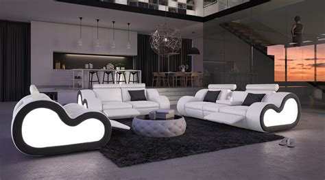 canapé relax moderne stunning image des salons moderne complet pictures