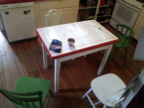 1000+ Images About Vintage Kitchen Tables On Pinterest