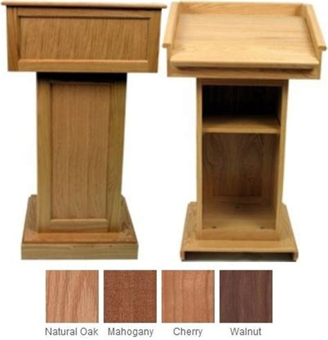 wood working podium plans easy diy woodworking projects