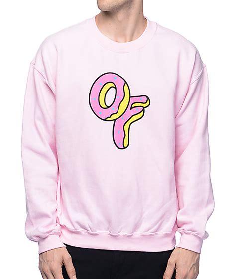 light pink sweatshirt future of logo light pink crewneck sweatshirt