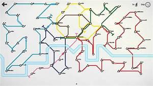 Mini Metro Les Lignes Sous Terraines Sont Vous Cooldown