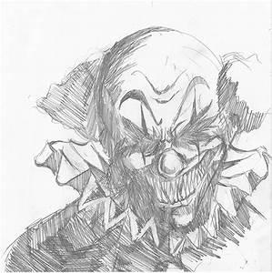 Dessin Qui Fait Tres Peur : caricature portrait et clown freakshow par s bastien chevriot sandawe ~ Carolinahurricanesstore.com Idées de Décoration