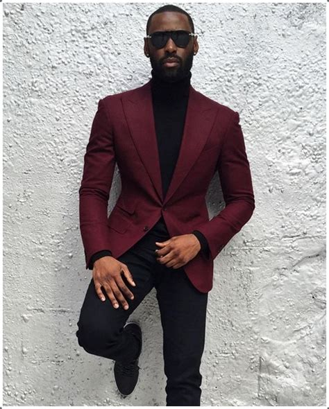 40 Best Maroon Menu2019s Suits Ideas to Look More Bold and Classic