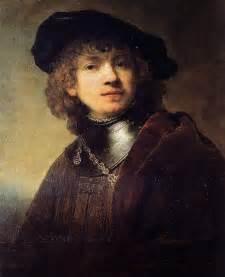 Rembrandt Van Rijn - Self-Portrait as a Young Man at ...