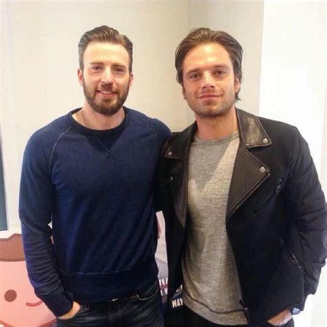 Chris Evans & Sebastian Stan | Chris evans, Sebastian stan ...