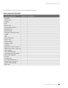 Exterior House Inspection Checklist