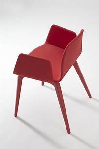 Chaise Rouge Design : fauteuil rouge design maison design ~ Teatrodelosmanantiales.com Idées de Décoration
