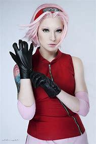 Naruto Sakura Cosplay Costume