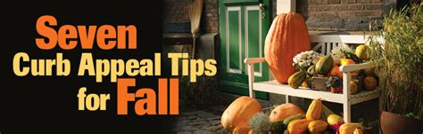 Seven Curb Appeal Tips For Fall  The Rodocker Group