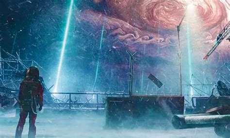 vfx driven chinese sci fi hit  wandering earth lands
