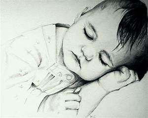 sleeping baby by BeutyBent on DeviantArt