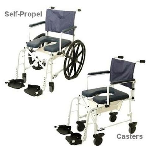 invacare mariner rehab shower commode wheelchair ebay