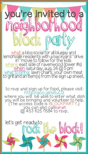 block party flyer template bookletemplateorg