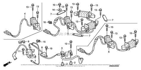 Honda Engines Gxvu Sxe Engine Jpn Vin Gjaek