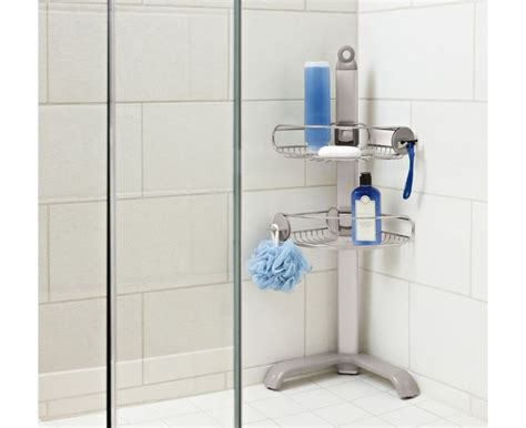 corner shower caddy ideas  pinterest shelves