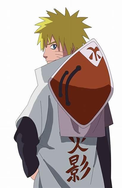 Hokage Naruto He Outfit Render Uzumaki Kakashi