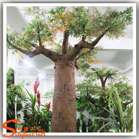 plastic artificial big baobab tree  outdoor  sale