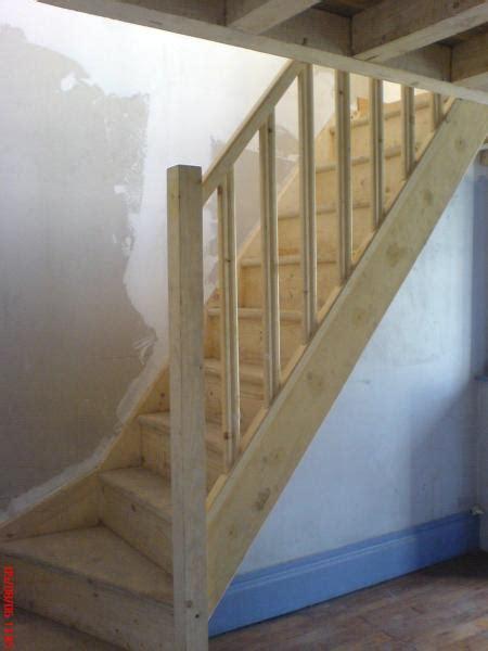 cuisine en bois decoration escalier interieur bois