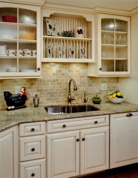 kitchen cabinet photos country glass panel granite complex l shaped normal 2672